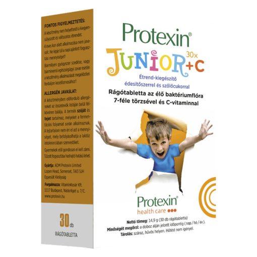Protexin Junior + C az élő baktériumflóra 7 féle törzsével (30 db rágótabletta)