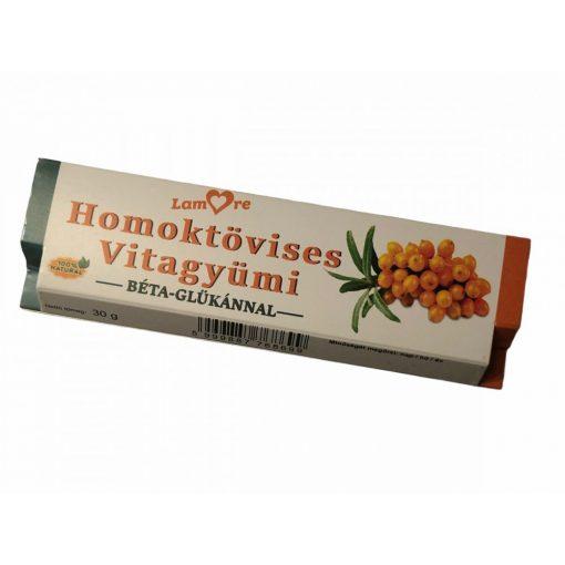 Homoktövises Vitagyümi szelet béta-glükánnal (30g)